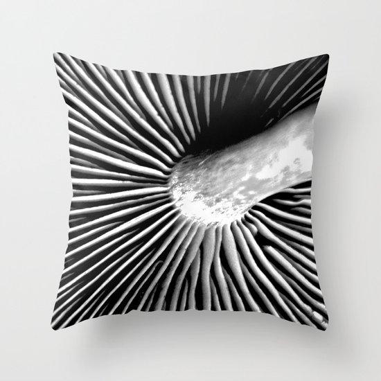 Toadstool Throw Pillow