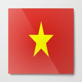 Flag Of Vietnam Metal Print