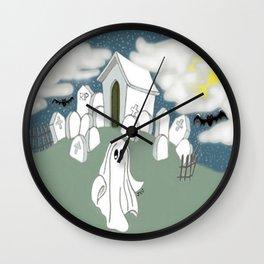 Grave Yard Shift Wall Clock