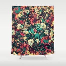RPE FLORAL V Shower Curtain