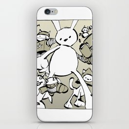 minima - beta bunny iPhone Skin