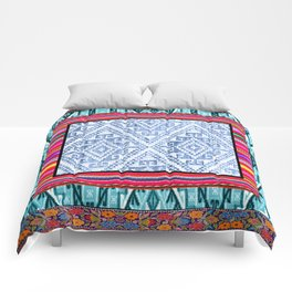 Peruvian Fabric Comforters