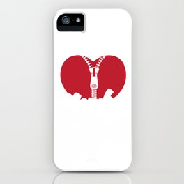 Official Member Zipper Club Heart Cardiologist For Patients iPhone Case