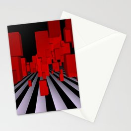 opart imaginary -102- Stationery Cards