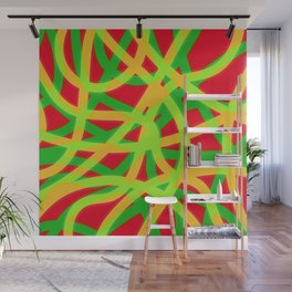lively lines Wall Mural