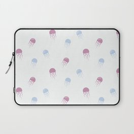 Sea pattern with jellyfishes Laptop Sleeve