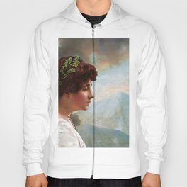 Escaping out of Pompeii Hoody