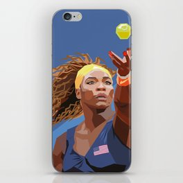 American Tennis Champion iPhone Skin