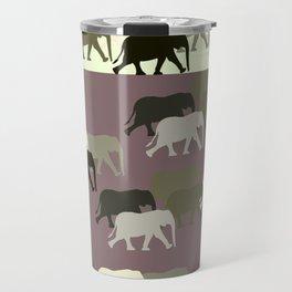 Herd of Elephants No.1 Travel Mug