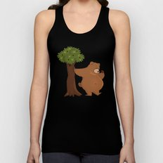 Bear and Madrono Unisex Tank Top