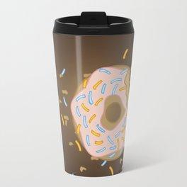 Donut bites back Travel Mug