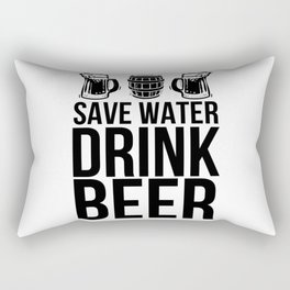 Beer Rectangular Pillow