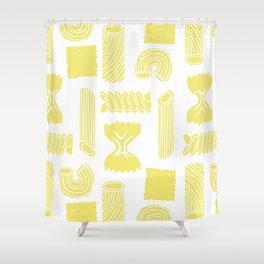Pasta Pattern Shower Curtain