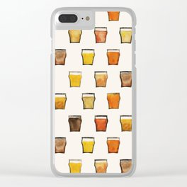 All the Beer in the World Clear iPhone Case