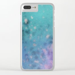 Abstract No. 204 Clear iPhone Case