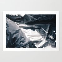 bed Art Prints featuring Bed by Ryan Ly