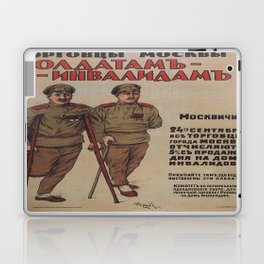Vintage poster - Russia WWI Laptop & iPad Skin