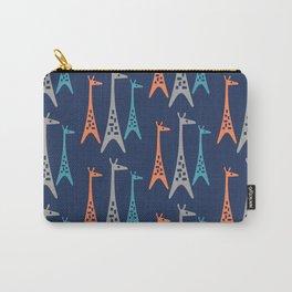 Mid Century Modern Giraffe Pattern 242 Carry-All Pouch