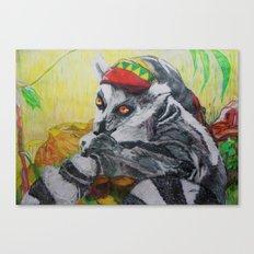 Am I el' Lemur?? or Am I, Yaaaa Man'?? Canvas Print