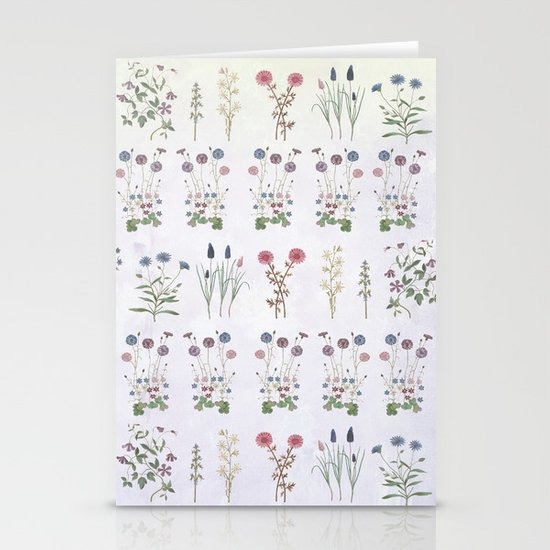Growing a garden Stationery Cards