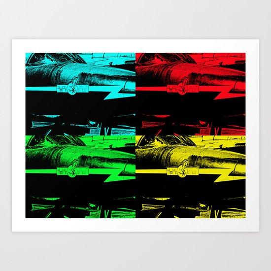 The Pop Art Hunter Art Print
