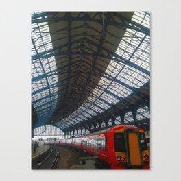Brighton Train Station Canvas Print