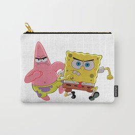 Spongebob and Patrick Annoyed Carry-All Pouch
