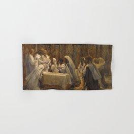 James Tissot - The Communion of the Apostles Hand & Bath Towel