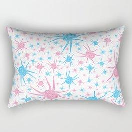 Halloween Spider (white) Rectangular Pillow