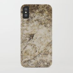 Old and Cracked iPhone X Slim Case