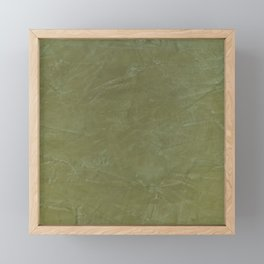 Italian Style Tuscan Olive Green Stucco - Luxury - Neutral Colors - Home Decor - Corbin Henry Framed Mini Art Print
