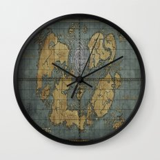 Seimeramus Map Wall Clock