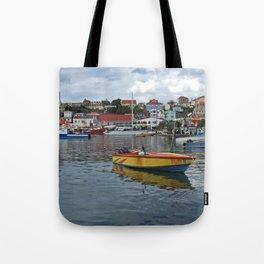 Grenada Carenage Harbor  Tote Bag