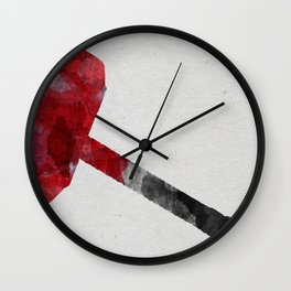 Mjolnir Wall Clock