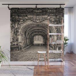 'One Night in Dresden' Landscape Painting by Jeanpaul Ferro Wall Mural