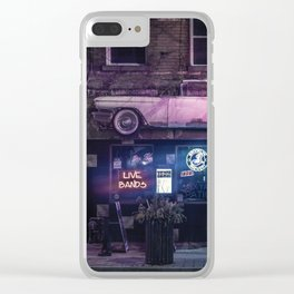 Cadillac Lounge Clear iPhone Case