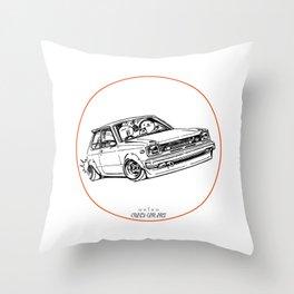 Crazy Car Art 0194 Throw Pillow