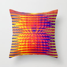 Ripples in a dream Throw Pillow