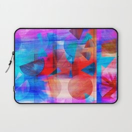 Watercolour Geos and Stripes Laptop Sleeve