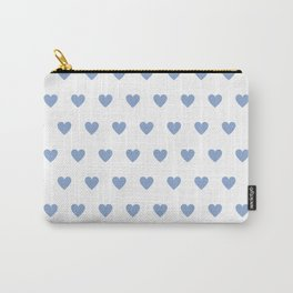 Polka dot hearts - lilac Carry-All Pouch