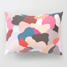 petals: abstract painting Pillow Sham