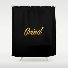 Grind Shower Curtain