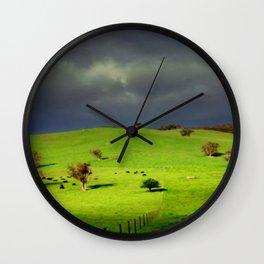Ominous Wall Clock