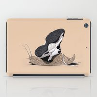 sneaker iPad Cases featuring The Sneaker (Colour) by rob art | illustration