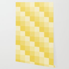 Four Shades of Yellow Square Wallpaper