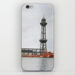 Punta Mayor - Barcelona iPhone Skin