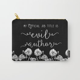 Evil Author Carry-All Pouch
