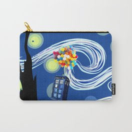 Tardis Balloons Starry Night Carry-All Pouch