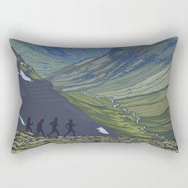 Vintage Poster - Steens Mountain Protection Area, Oregon (2015) Rectangular Pillow