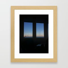 Looking Through the Glass Framed Art Print